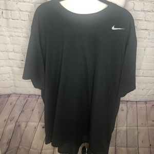 Men's Black Nike Dri Fit Tee